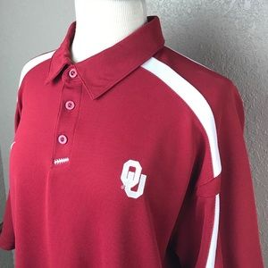 Oklahoma Sooners University OU Nike Fit Polo XL